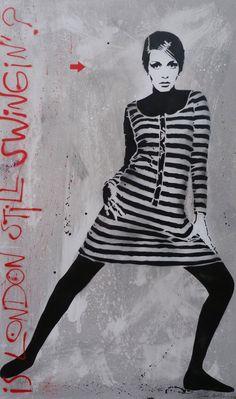 jef aerosol art | Oeuvre de Jef Aérosol vendue aux enchères chez BONHAMS le 29 mars ...