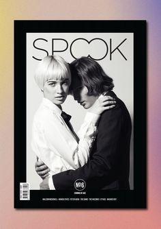 Confetti - Spook Magazine cover via the wonderful blog bench.li/ #editorial #magazine #print #design #cover