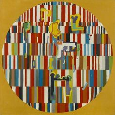 Musical Painting, Jack Smith (1928–2011), Arts Council Collection