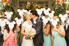 Adorable wedding moment with a little bit of Disney magic!