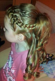 #Trend Hair Styles 2018 Different Quick and Easy Hairstyles for Little Girls #Braids #women #Ideas #short#Different #Quick #and #Easy #Hairstyles #for #Little #Girls