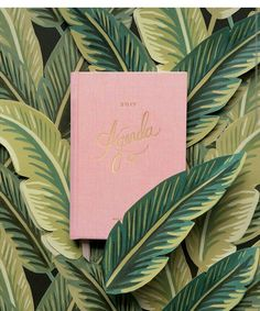 Rifle paper co 2017 planner