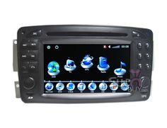 $597  Mercedes-Benz W208 Navi DVD Autoradio PIP RDS Touch