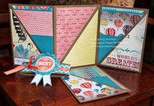 """Tri-fold Triple Pocket"" Mini Album"