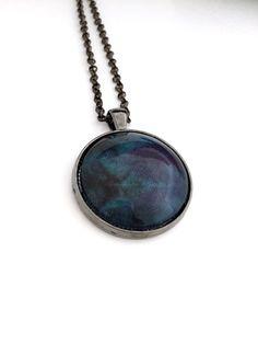 Circle Pendant Necklace. Pendant necklaces for women. by twospokes