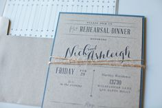 Use budget friendly kraft paper is your stationery...It's a trend and affordable!
