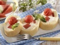 Roládky s melounem