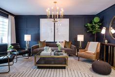 Ilca & Fernando - The Scott Brothers Luxury Home Decor, Luxury Homes, Diy Home Decor, Room Decor, Home Furnishing Stores, Home Furnishings, Interior Door Hinges, Gold Sofa, Shower Floor Tile