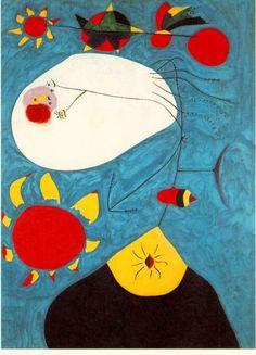 Joan Miro - Portrait