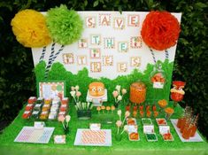 """""""The Lorax"""" Themed Party - Dr. Suess Party - Kara's Party Ideas - The Place for All Things Party"""