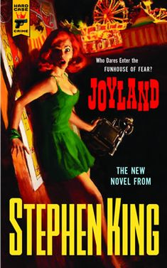 Joyland by Stephen King....let me say that I do NOT like scary books, but my husband convinced me to read it, saying it was different.  It was REALLY good, and would totally recommend it.  More suspenseful than scary, and the way in which Stephen King is able to capture love and loss is pretty amazing.
