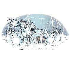 Snowman Competition