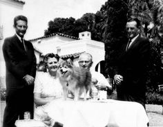Florida Memory - Councilman Smith with dog show winner and owners - New Port Richey, Florida