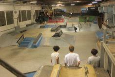 BERLINER - In Cassiopeia is het eerste indoor skatepark van Berlijn gebouwd.