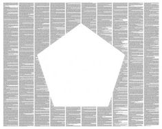 Flatland: A Romance Of Many Dimensions poster - Typography Art ($26.99)