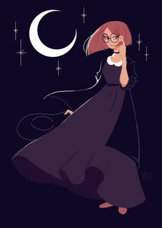Witchy Art Challenge - Day 1 - Witchsona by Vicky-Pandora on DeviantArt