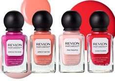 Revlon Scented Nail Polish, the melon is fantastic and so is the baby powder