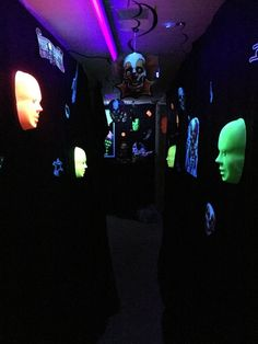 CarnEvil blacklight room on Halloween Forum