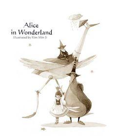 Kim Min Ji. Alice in Wonderland.