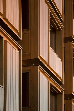 Student Housing, Somerville College. Níall McLaughlin Architects