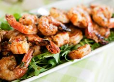 Grilled shrimpswith a twist of Thai - Grillatut katkaravut thaimaalaisittain, resepti – Ruoka. Best Party Appetizers, Appetizer Recipes, Kung Pao Chicken, Grilling Recipes, Chili, Shrimp, Bbq, Recipies, Treats