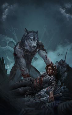 Hermorrhage by Royzilya on Furry Wolf, Furry Art, Fantasy Creatures, Mythical Creatures, Geeks, Wolf Warriors, Werewolf Art, Vampires And Werewolves, Monsters