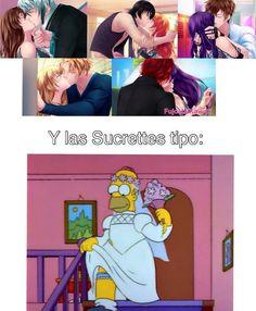 Ay Homero y su vestidito xDD