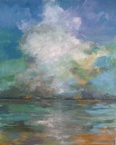 Distant Thunder by Betsy Harper Acrylic ~ 24 x 20