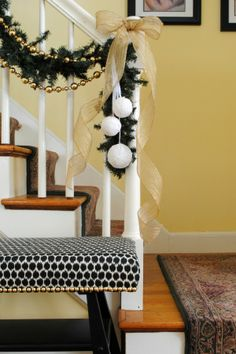 Christmas Decoration for the Stairs