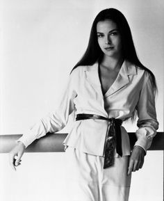 Actress Carole Bouquet's filmography is telling of her allure: She debuted in Luis Buñuel's That Obscure Object of Desire, played Bond girl Melina Havelock in For Your Eyes Only, and co-starred in Too Beautiful For You with (one-time fiancé) Gérard Depardieu. Bouquet was the face of Chanel No. 5 in the eighties and nineties, and apparently so captivated then-President François Mitterrand that he had her phones tapped for over a year.