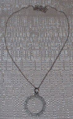 Stargate Antique Sterling Silver Pendant Necklace Want This :0)