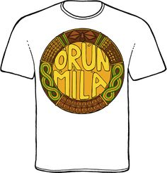 orunmila t-shirt from www.orishaimage.com