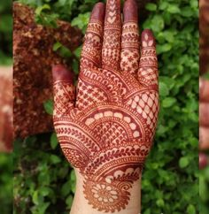 Image may contain: plant and outdoor Henna Hand Designs, Dulhan Mehndi Designs, Mehandi Designs, Rajasthani Mehndi Designs, Mehndi Designs Finger, Mehendi, Full Hand Mehndi Designs, Beginner Henna Designs, Simple Arabic Mehndi Designs