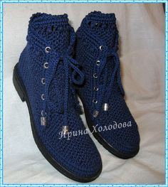Crochet Shoes Pattern, Crochet Boots, Shoe Pattern, Crochet Slippers, Crochet Patterns, Spring Boots, Princess Shoes, Models, V Neck Dress