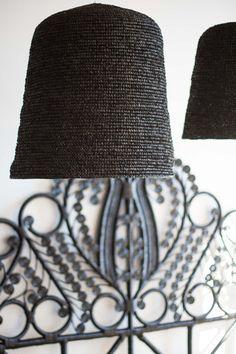 SEAGRASS PENDANT - BLACK