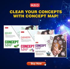#MTG's Concept map for Rapid Revision is one of the best books for quick revision in a structured way. Topic wise and Chapter wise #conceptmaps are provided for better understanding of key concepts. Math Books, Science Books, Neet Exam, Hindi Books, Board Exam, Entrance Exam, English Book, Mtg, Mathematics