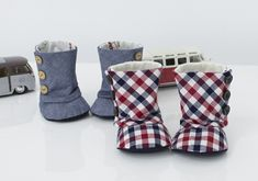 Baby  Button Boots PDF Pattern Size ,,,