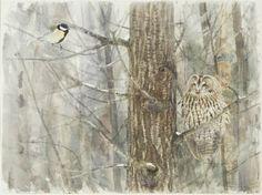Lars Jonsson Illustration Art, Illustrations, Bird Design, Wildlife Art, Bird Art, Flocking, Bird Feathers, Sketchbooks, Beautiful Birds