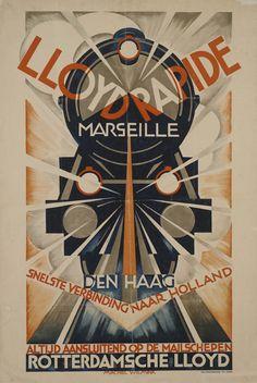Lloyd Rapide Marseille Den Haag Snelste verbinding naar Holland Altijd…