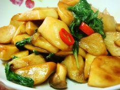 塔香杏鮑菇食譜、作法   J.Lo的多多開伙食譜分享