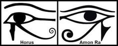 The Eye of Horus is an ancient Egyptian symbol of protection, royal power and good health The mirror image, or left eye, sometimes represented the moon and the god Djehuti The eye of Horus was often used to symbolise sacrifice, healing, restoration, and protection
