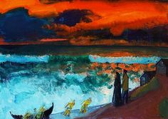 S. J. Mikines Faroe Islands, Art Ideas, Paintings, Paint, Painting Art, Painting, Painted Canvas, Drawings, Grimm