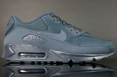 best cheap 47d08 76a12 UEID457 Herre Nike Air Max 90 running Sko Mørke Blå DhvC14  1