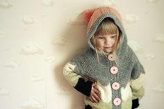 Knitted sweater for kids, by Muita Ihania