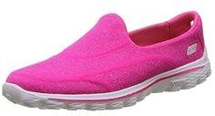 Skechers , Damen Sneaker Rosa rose - http://on-line-kaufen.de/skechers/40-eu-7-uk-skechers-go-walk-2-super-sock-damen