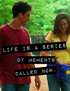 The Spectacular Now; Great book, great movie