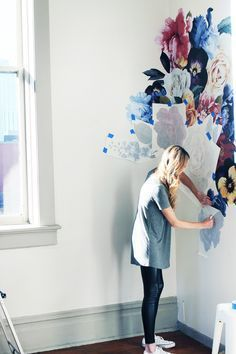 How To   Vintage Florals Step-by- Step - Urban Walls