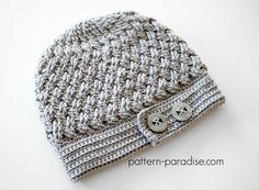 Crochet Pattern Dream Weaver Hat by http://Pattern-Paradise.com