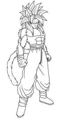 Imagenes Para Colorear De Dragon Ball Z En Hd Dibujo De Goku Como Dibujar A Goku Imagenes De Goku Ssj4