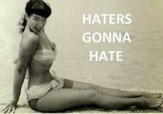 You tell em Betty